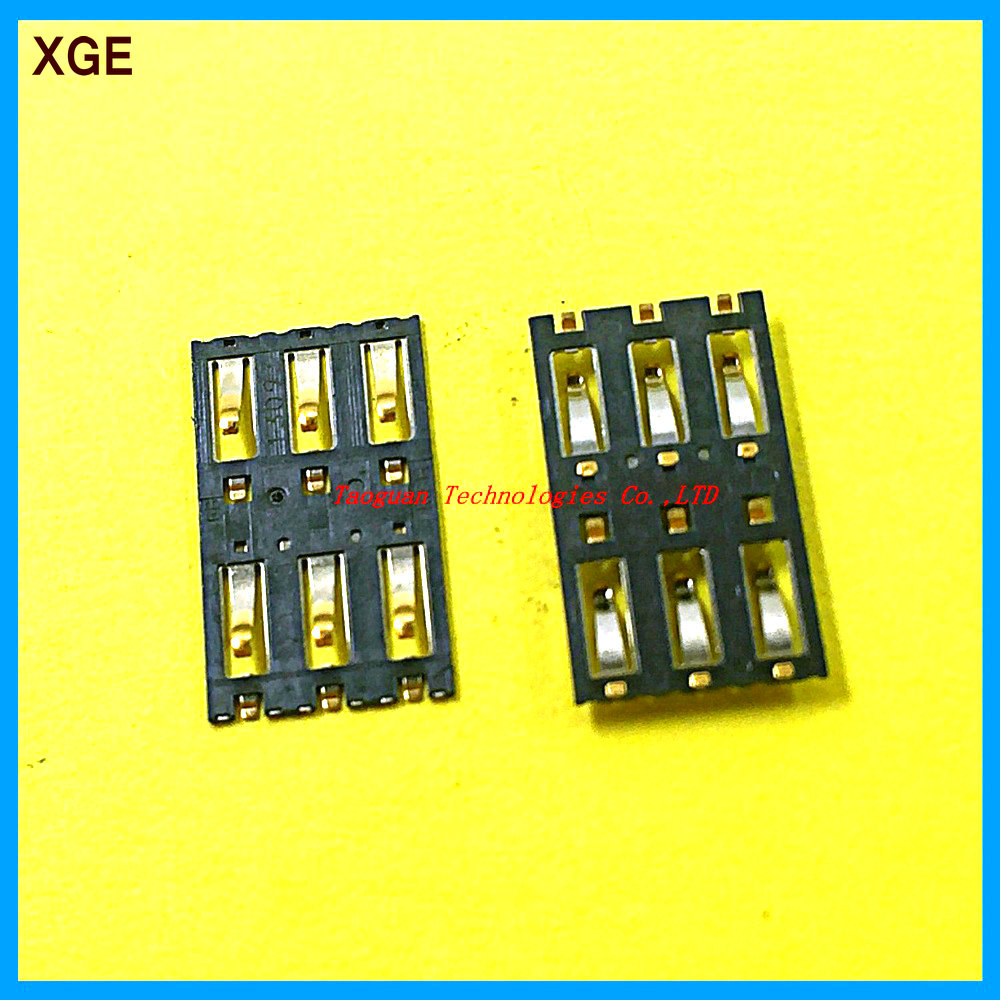 2pcs/lot XGE New SIM Card Socket Slot Tray Reader Repair Parts For NOKIA N9 Lumia 800 1020 900 920 925 928 909 High Quality