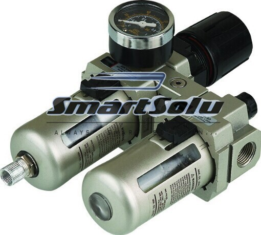 SMC Series Air Combination Units;SMC AC4010 Type;1/2 Port Size;High Quality SMC Filter Regulator Lubricator Combination smc series air combination units smc ac4010 type 1 2 port size high quality smc filter regulator lubricator combination