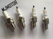 4pcs lot A7T Spark Plug for Honda Today AF62 GY6 Scooter AF55 Scoopy Giorno Crea