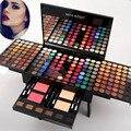MISS ROSE 190 Colores Completos de Maquillaje Paleta Perla Mate Caja de Piano Maquiagem Paleta de Sombra de Ojos Blush Corrector A Prueba de agua Portátil