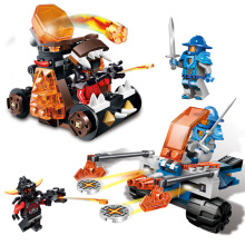 LELE 2016 lepin nexo 2Box/sets minifigures jestro a clay axl knights nexo the fortrex Compatible Nexus lepin original