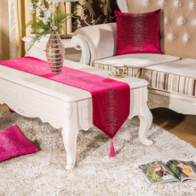 2016 New Table Runner Simplicity Europe Of Type Style Runner Christmas  Printed Glitter Stone Full Stone