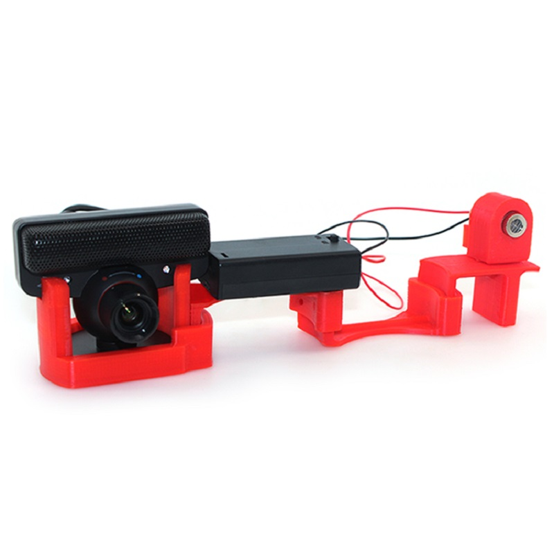 homemade simple cheap laser scan easy to use DIY 3D scanner main kit camera free shipping