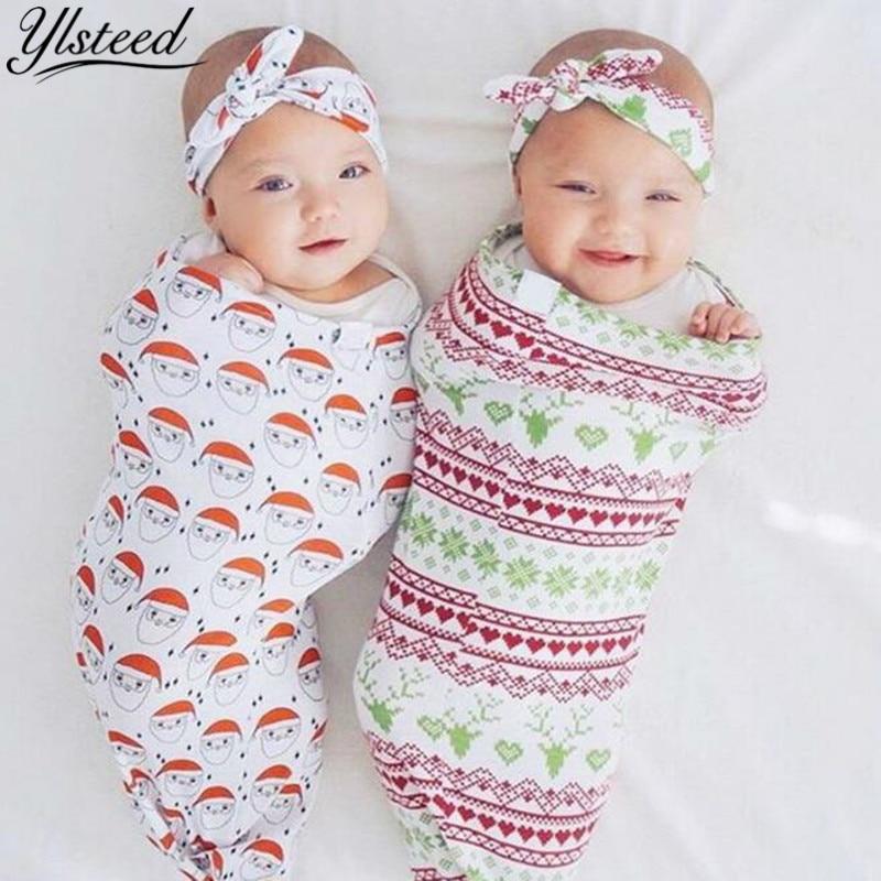 Newborn Baby Boy Girl Cocoon Swaddle Blanket Sleeping Swaddle Wrap Hat//Headband