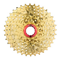ZTTO 9 27 Speed 11 36T Gold Freewheel Cassette MTB Mountain Bike Bicycle For Shimano M370