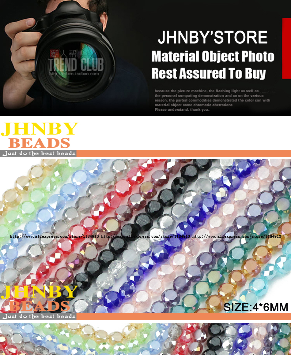 Beads & Jewelry Making Nice Jhnby Bread Shape Austrian Crystal Beads 50pcs High Quality 5*8mm Matte Glass Flat Round Loose Beads For Jewelry Making Bracelet Jewelry & Accessories