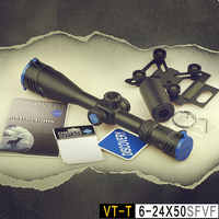High Quality Discovery VT-T 6-24X50 SFVF FFP First Focal Plane Air Riflescope Gun Hunting Sights Optical Etched Reticle