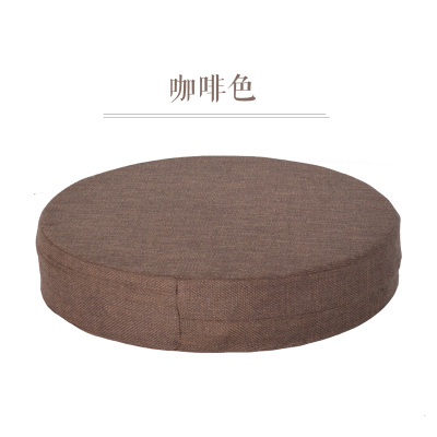 New Arrived Linen Japanese Futon Meditation Cushion Thickening Circle Large Floor Cushions Seat Tatami