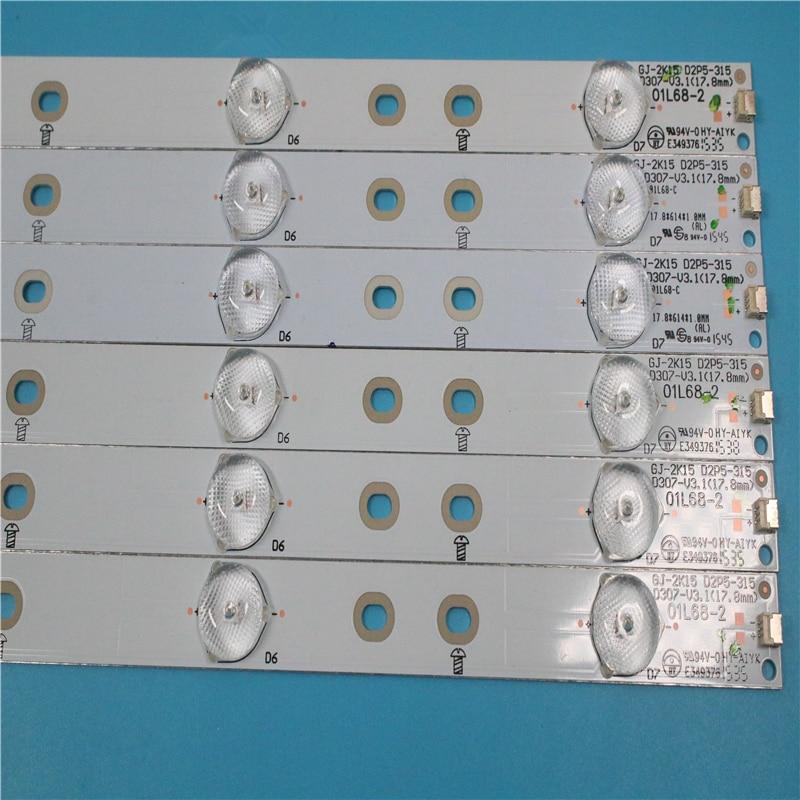 1 Set=6PCS New Original LED Strips For 32