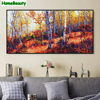 Home Beauty 50 100 Diy Oil Picture By Numbers Modular Canvas Painting Coloring By Number Large