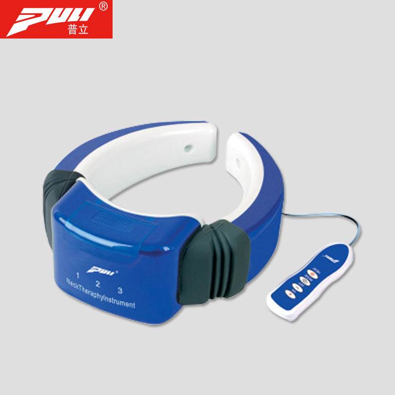 Neck Massage Acupuncture Magnetic Therapy Cervical Therapy Instrument Neck Meridian Therapeutic Apparatus Electric Pulse Massage pl 758 multifunctional neck therapy instrument