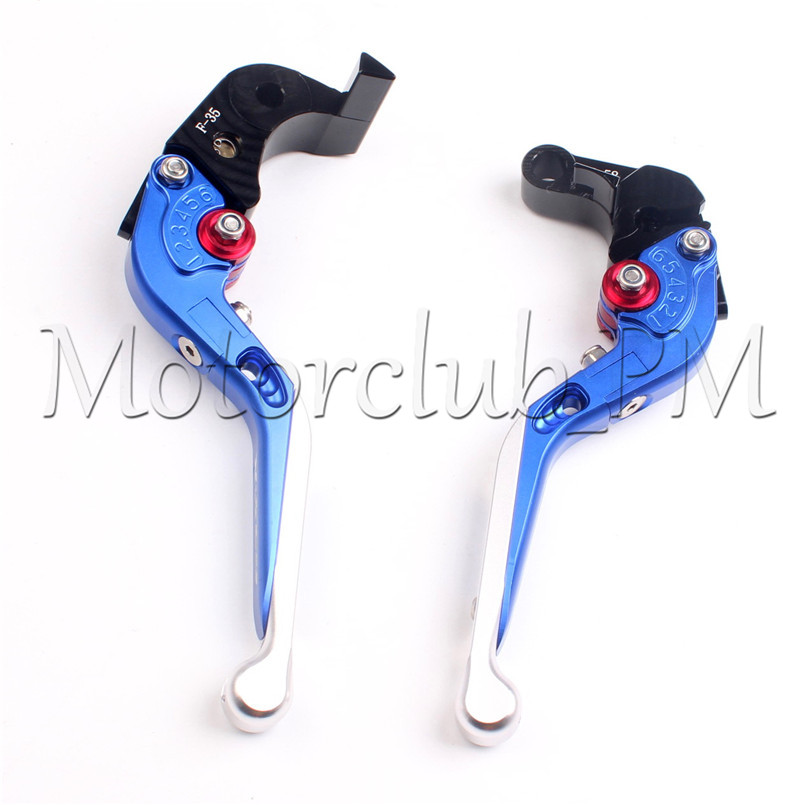 One Pair Motorcycle Extendable Brake Clutch Levers For Suzuki GSXR600/750 2011-2015 12 13 14 GSXR1000 2009-2015 Blue Aluminum alu new folding billet adjustable brake clutch levers for suzuki gsxr 600 750 1000 gsxr600 gsxr750 gsxr1000 09 10 11 12 13 14 15