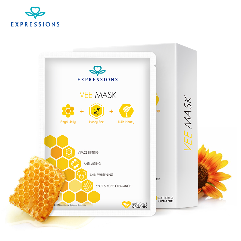 Korean Honey Bee  Face Mask for Anti Acne and blackheads