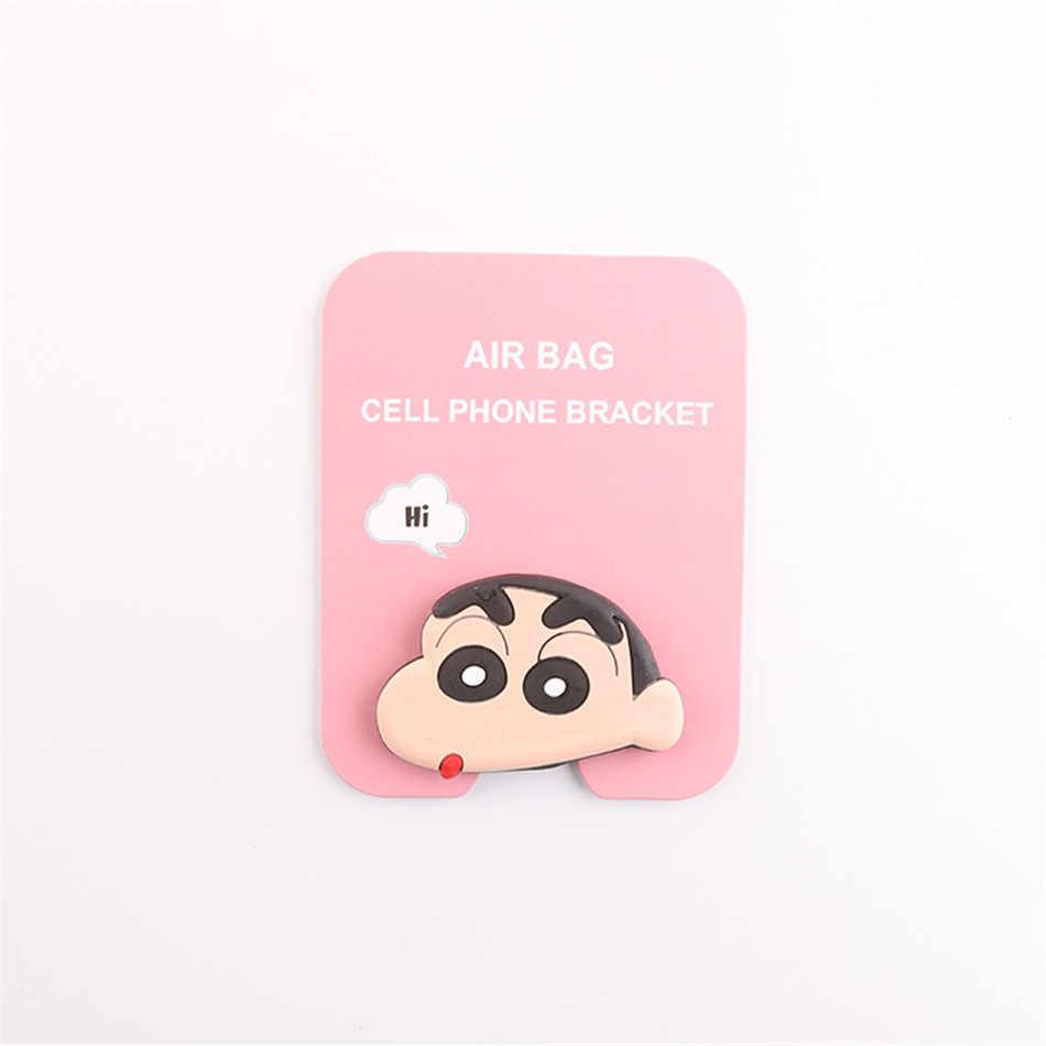 Soporte de teléfono de dibujos animados bolsa de aire Popular anillo de expansión soporte de dedo base de dedo superior Soporte de teléfono móvil
