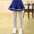 2016 Baby Girls Leggings Children Ruffle Pants Kids Cotton Skirt Pants Girl Tutu Skirts Fashion Leggings Clothes