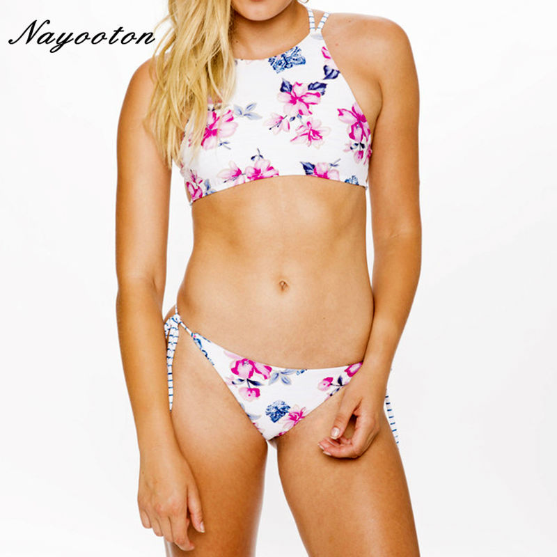 Sexy Brazilian Bikini set 2018 Push Up new Double Wear Swimwear Women Bandage Bathing Suit Plus Size XXL Swiming Swimsuit D073