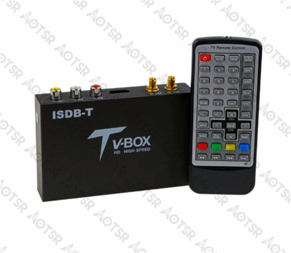 Aotsr Car Digital Tv Box External Isdb-t Tv Full Seg Dual Tunners For Brazil/peru(south American Countries)/japan/philippine A Great Variety Of Models