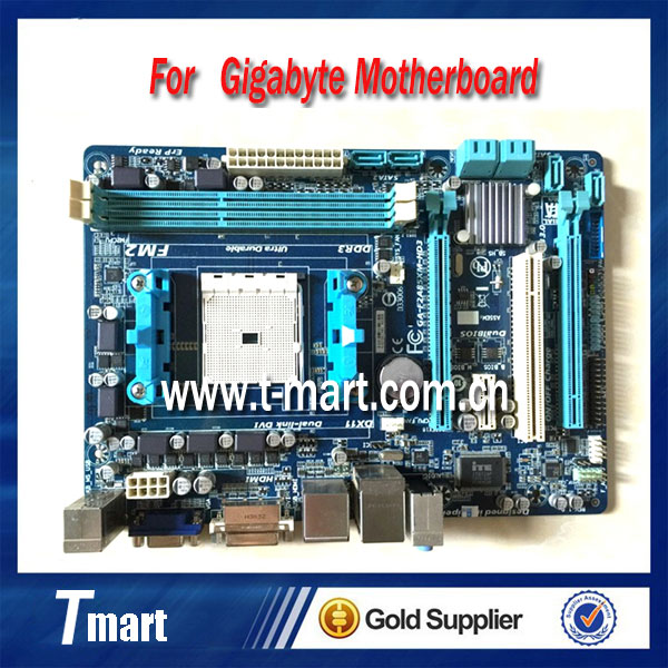ФОТО 100% Working Desktop motherboard for Gigabyte GA-F2A85XM-HD3  fully tested and perfect quality