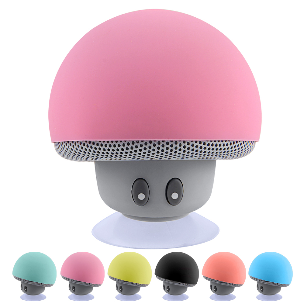 Wireless Bluetooth Speaker Waterproof Speakers Bluetooth Mushroom Portable Speaker Heavy Bass Stereo Music With Mic Speaker купить