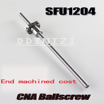 Obrobiony koszt śruby kulowej wał liniowy i inne części dodatkowe koszty tanie i dobre opinie DDINIZI 12mm SFU1204 XXXmm