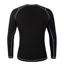 Thermal Underwear Running T-Shirts Long Johns Tops Fitness Shirts for Jogging Cycling Yoga Sports Base Layer