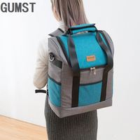 Thickening big capacity oxford waterproof cooler backpack cool thermal handbag vehicle insulaton shoulder bag lunch picnic box