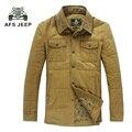 2017 new  style Men 's thicker coat men' s war field jeep thicker coat men 's winter  thicker men' s cotton jackets 120cy