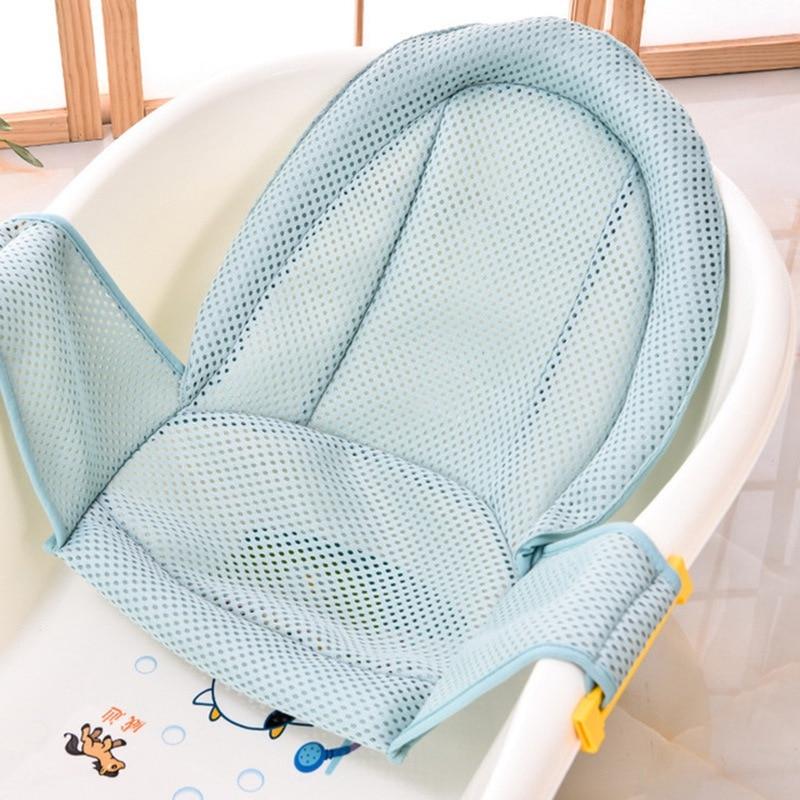 טבעות מתכוונן אמבטיה רחצה אמבטיה לתינוק שזה עתה נולד תינוקות מושב אמבטיה מקלחת אמבטיה צלב רשת ביטחון בטיחות מיטת תינוק תינוק טיפול