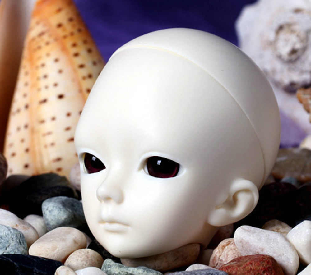 [wamami] AOD 1/6 BJD Dollfie Girl Doll Parts Single Head (Not Include Make-up)~Xi [wamami] aod 1 3 bjd dollfie girl set free face up eyes yuki