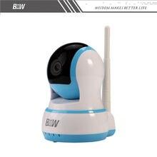 FTP Обнаружения Движения Камеры ВИДЕОНАБЛЮДЕНИЯ ONVIF 1 Мегапиксела 720 P HD 802.11b/g/n Беспроводной Проводные Ip-камеры Wifi ИК-Камера IP H.264 BWIPC013B