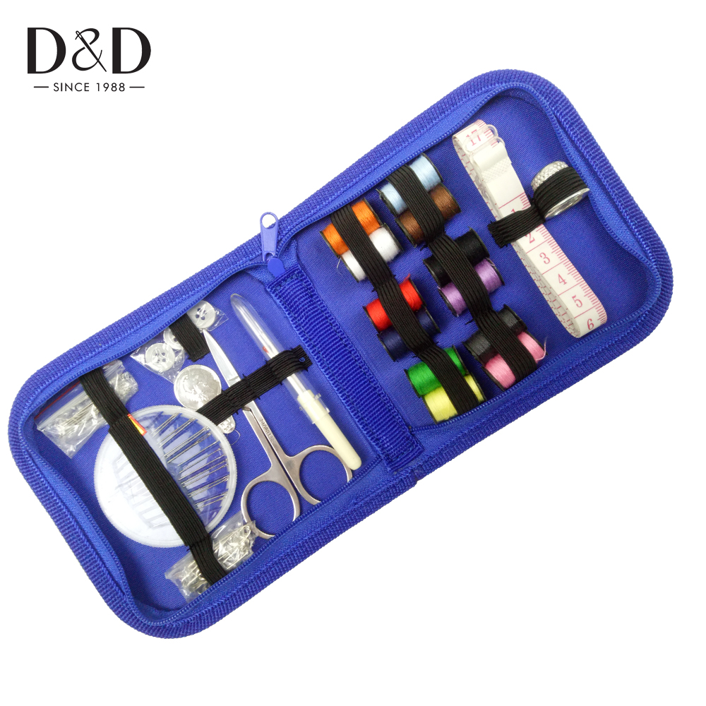 Portable Multifunction Travel Sewing Kits Box Set Needle Threads Scissor Storage Bags Sewing Accessories