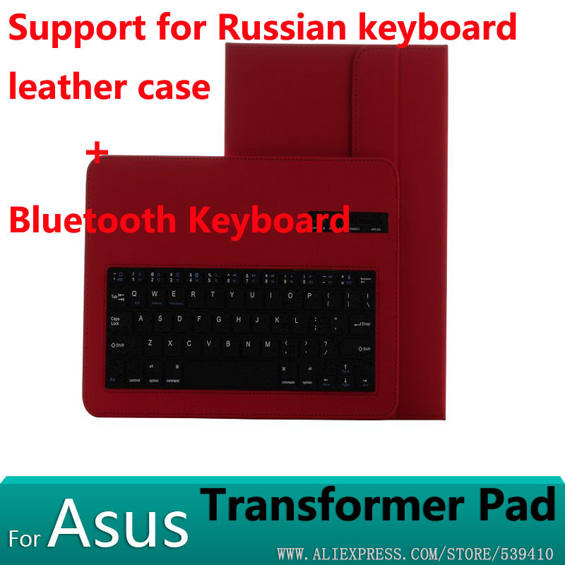 Bluetooth Keyboard leather Case For ASUS Transformer Pad TF303 TF303CL TF103 TF103C TF300T TF300 TF301 TF700T TF700 T100 T100TA new laptop keyboard for asus g74 g74sx 04gn562ksp00 1 okno l81sp001 backlit sp spain us layout