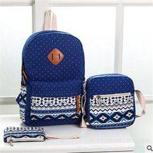WENYUJH рюкзак 3 шт./компл. Для женщин школьные женские школьные сумки, школьные рюкзаки для девочек-подростков Sac A Dos Студенческая книжная сумка рюкзак Backbag