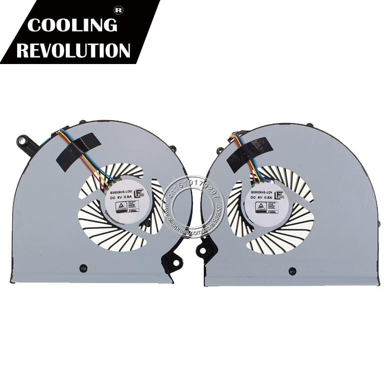 NEW COOLING Fan For Gigabyte RP64W RP65W Aero 15 15X 15 X9 15W BS505HS-U2M CPU+GPU COOLING FAN