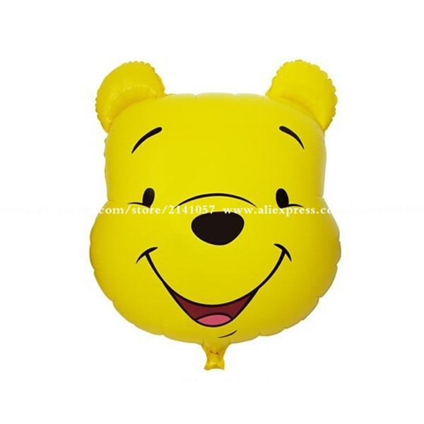 5pcs/lot wholesale New cartoon series Teddy Bear Balloon balloon nylon membrane
