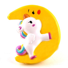 Unicorn On The Moon Squishy Toy