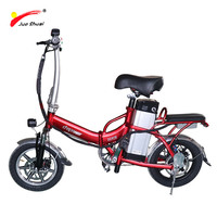 Electric Bike For Man 48V 14ah Lithium Battery Folding Electric Bicycle Long Distance Rear Motor Electric Scooter Ebike E-bike