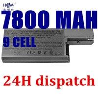 7800mAh 9CELL Laptop Battery For Dell Latitude D531 D531N D820 D830 Precision M65 Precision M4300 Mobile