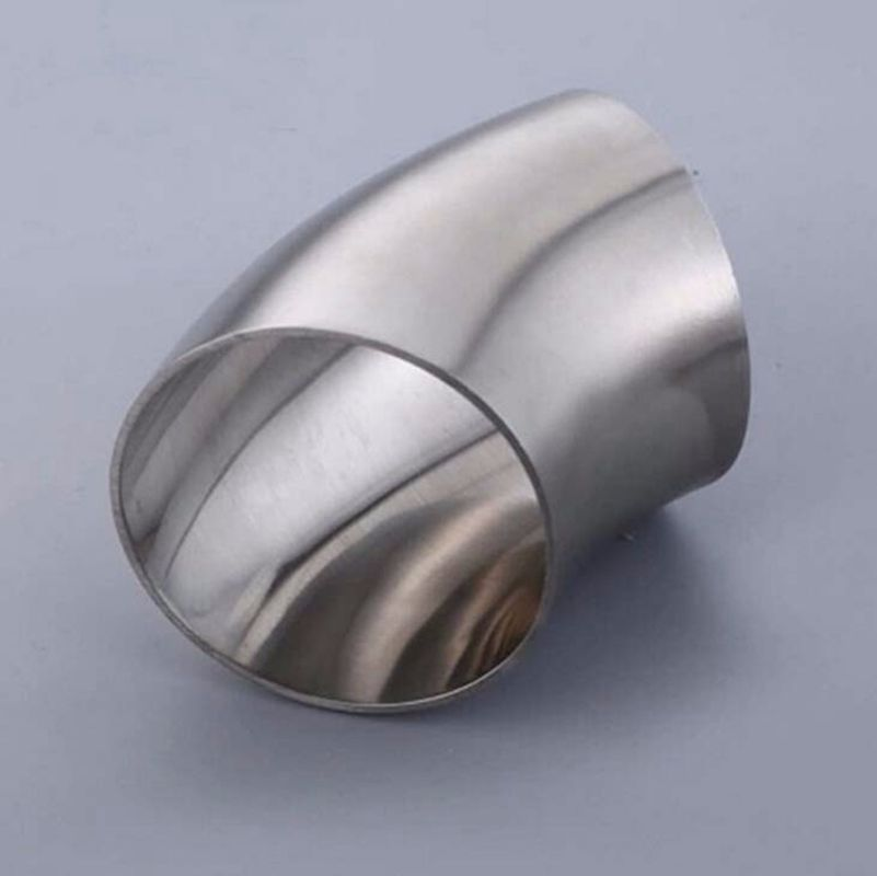 Mm o d stainless steel sanitary weld degree