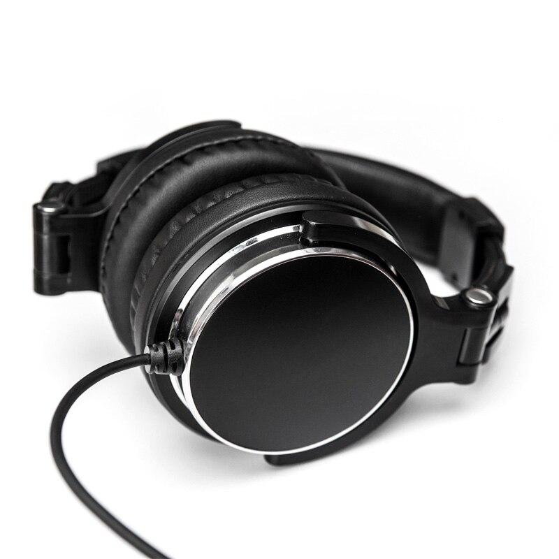 QC3 Beruf HiFi Computer Kopfhörer für PC Musik Stereo Monitor Hörer Subwoofer Große Kopfhörer Bass Stirnband Fone De Ouvido