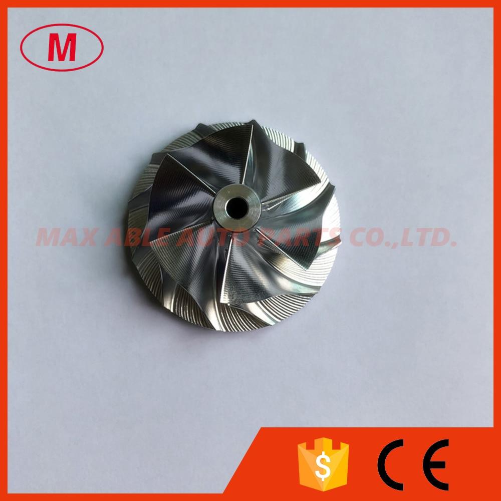 CT16V 6 + 6 лезвий 36,04/48,00 мм точечный фрезерный турбо заготовка/Фрезерование/алюминий 2618 компрессорное колесо для 17201-11070/11080 Hilux/Rra