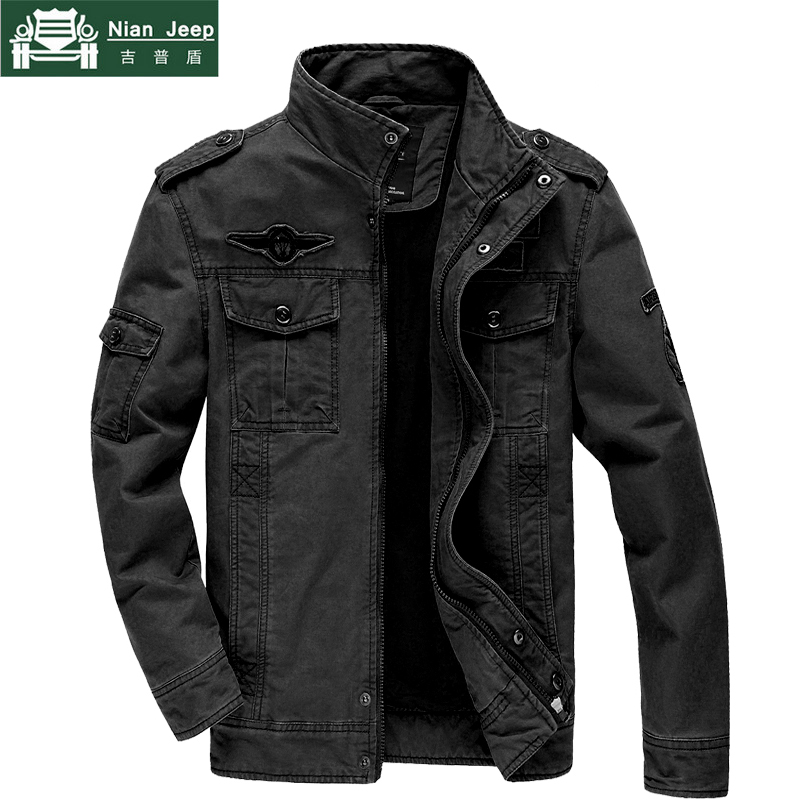 Military Style Jacket Men 2018 Brand Winter Mens Army
