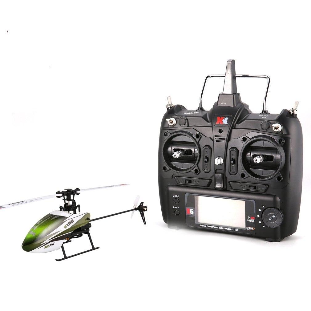 RC Drone XK K100 6G 6CH 6 canaux système moteur sans balai RC hélicoptère résistant aux chocs RC jouets pour garçon enfants cadeau