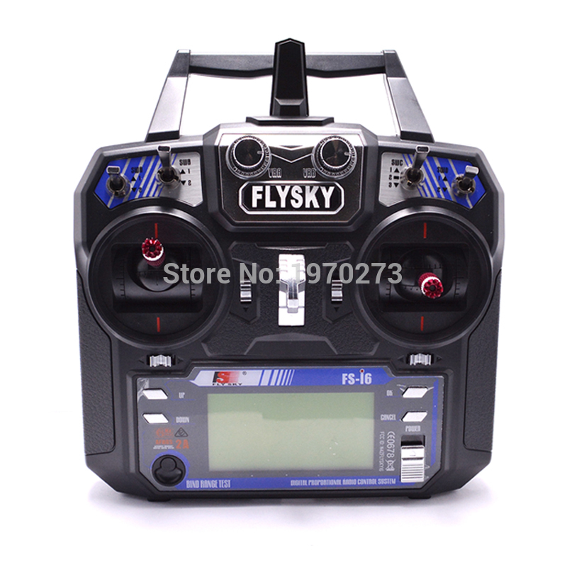 Flysky FS i6 FS I6 2 4G 6CH RC Transmitter Controller w FS iA6 Receiver For