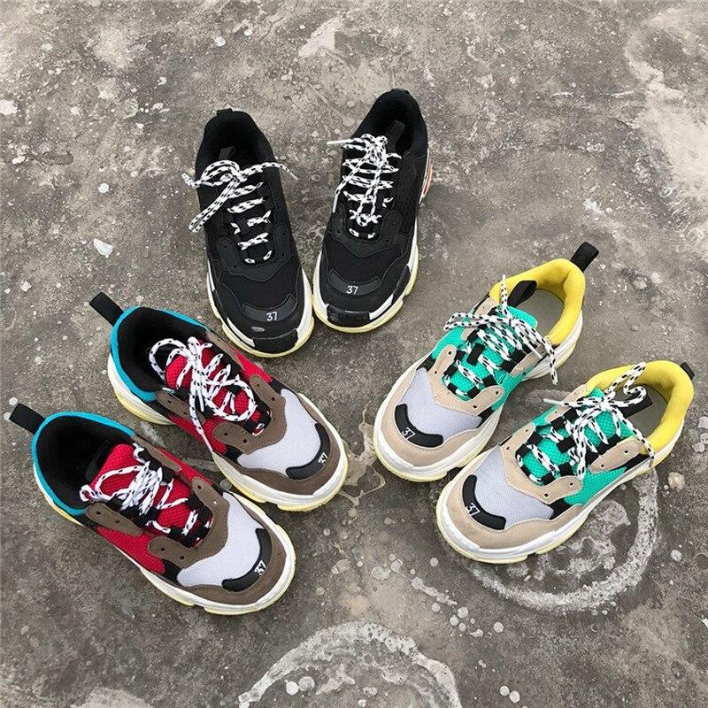 Ins 35 Respirant Dentelle 2 Sport Plates De 44 1 Mode Maille Femmes Superstar 2018 Chaussures Casual rw7rYq