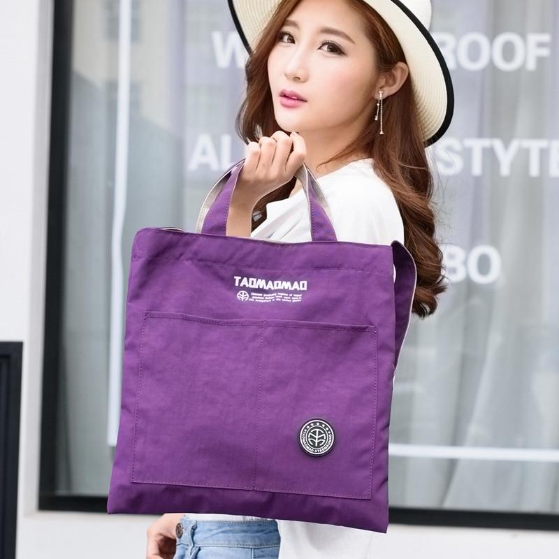 Reusable shopping bag Hight Simple Design Healthy Tote Handbag Fashion