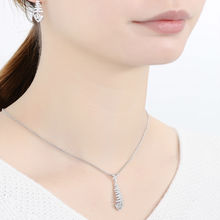 Natural Stone Pendant fit for Necklace 925 Sterling Silver