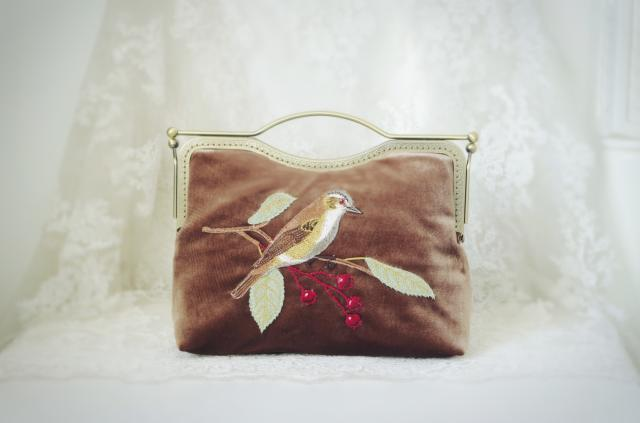 handmade do vintage-estilo bolsa de Ocasião : Versátil