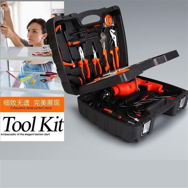 138 PCS Kit de herramientas multifuncionales Hardware Kit para el - Juegos de herramientas - foto 2