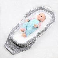 신생아 다기능 아기 침대 휴대용 아기 침대 접이식 아기 침대 어린이 여행 침대 역 0-6 개월 Wonderkids